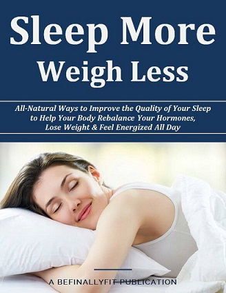 sleep more weigh less