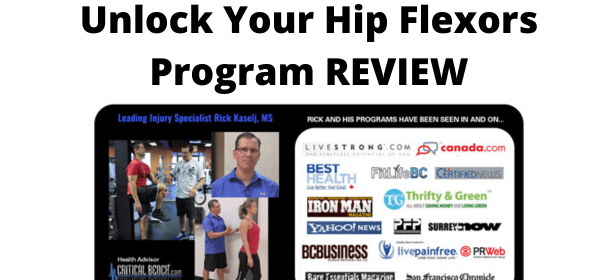 Unlock Your Hip Flexors Program REVIEW