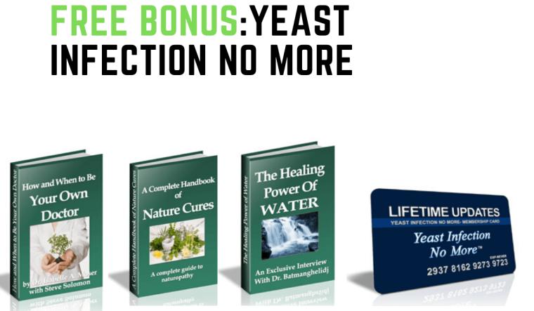 free bonus:yeast infection no more