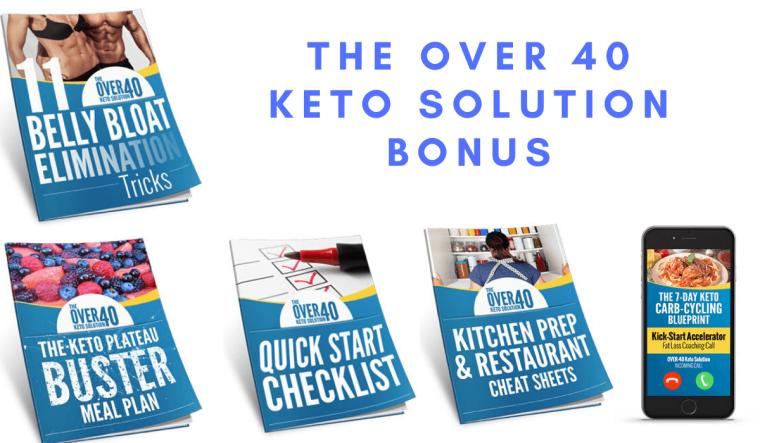 The Over 40 Keto Solution Bonus