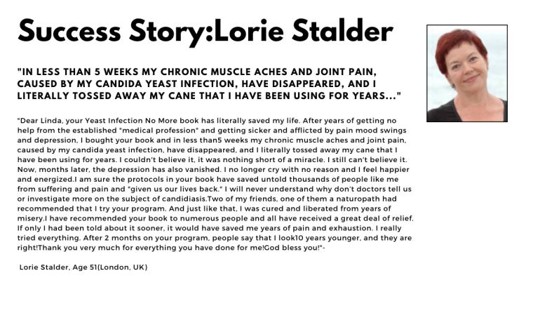 succes story:lorie stalder