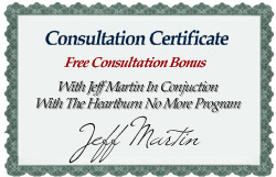 Free One-On-One Counseling With Jeff Martin For 3 Months.