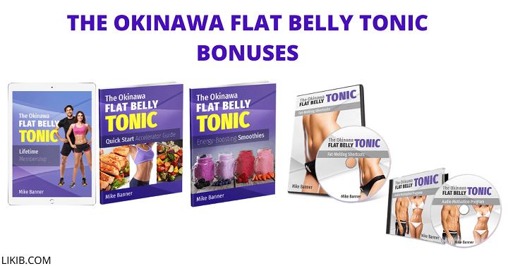 The Okinawa Flat Belly Tonic Bonuses