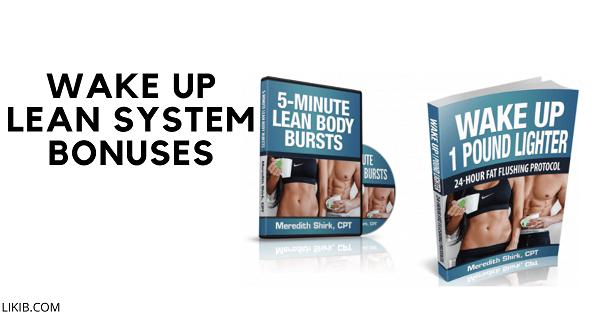 Wake Up Lean System Bonuses