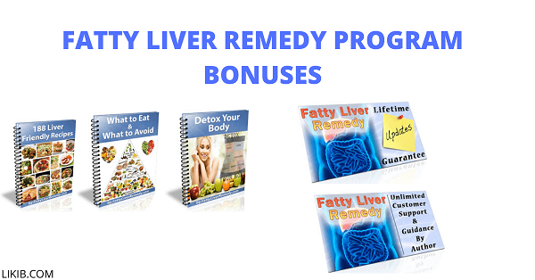 Fatty Liver Remedy Program Bonuses