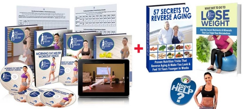 What you will receive whit Morning Fat Melter Workout