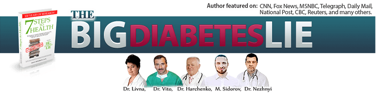 Author of 7 Steps to Health And The Big Diabetes Lie